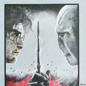 Harry e Voldemort
