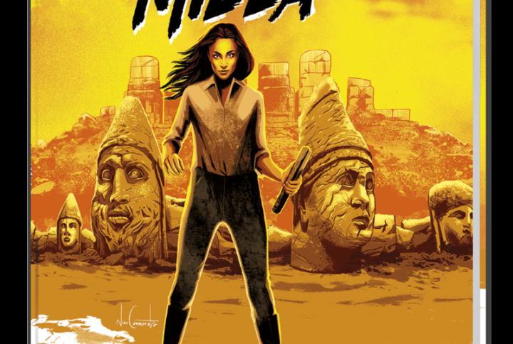 """""""Milla"""", l'eroina di un thriller a fumetti"""