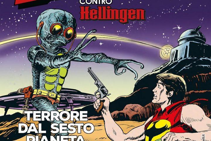 Zagor contro Hellinger. Terrore dal sesto pianeta